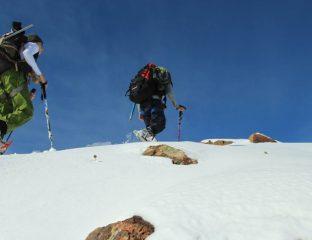 Sports d'hiver Tadjikistan Montage