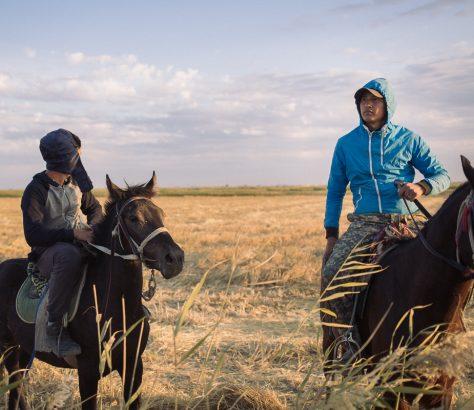 Cavaliers Kazakhstan Chevaux