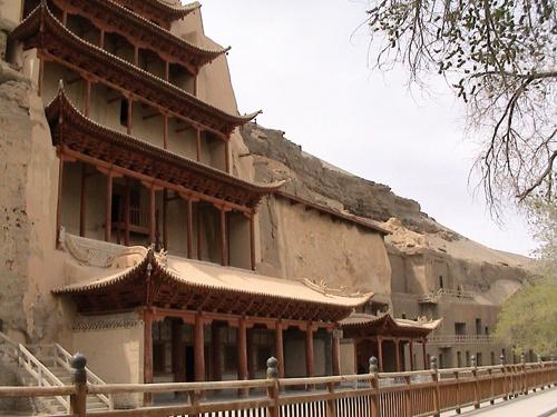 Route de la soie Grottes de Mogao