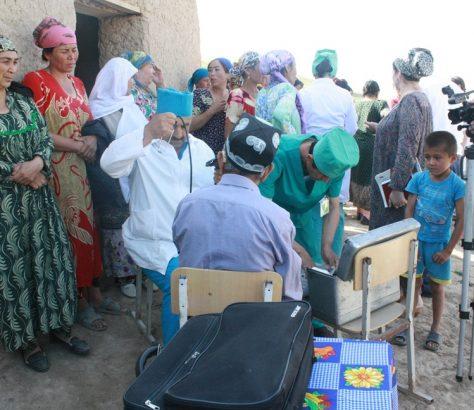 Tadjikistan Villages Médecins Problèmes Accès