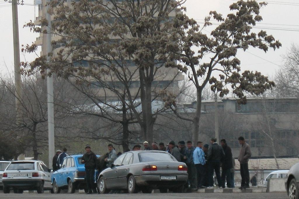 Tadjikistan Villages Chômage