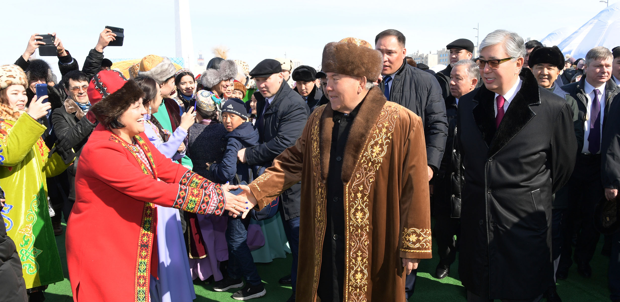 Noursoultan Nazarbaïev Kassym-Jomart Tokaïev Kazakhstan Histoire