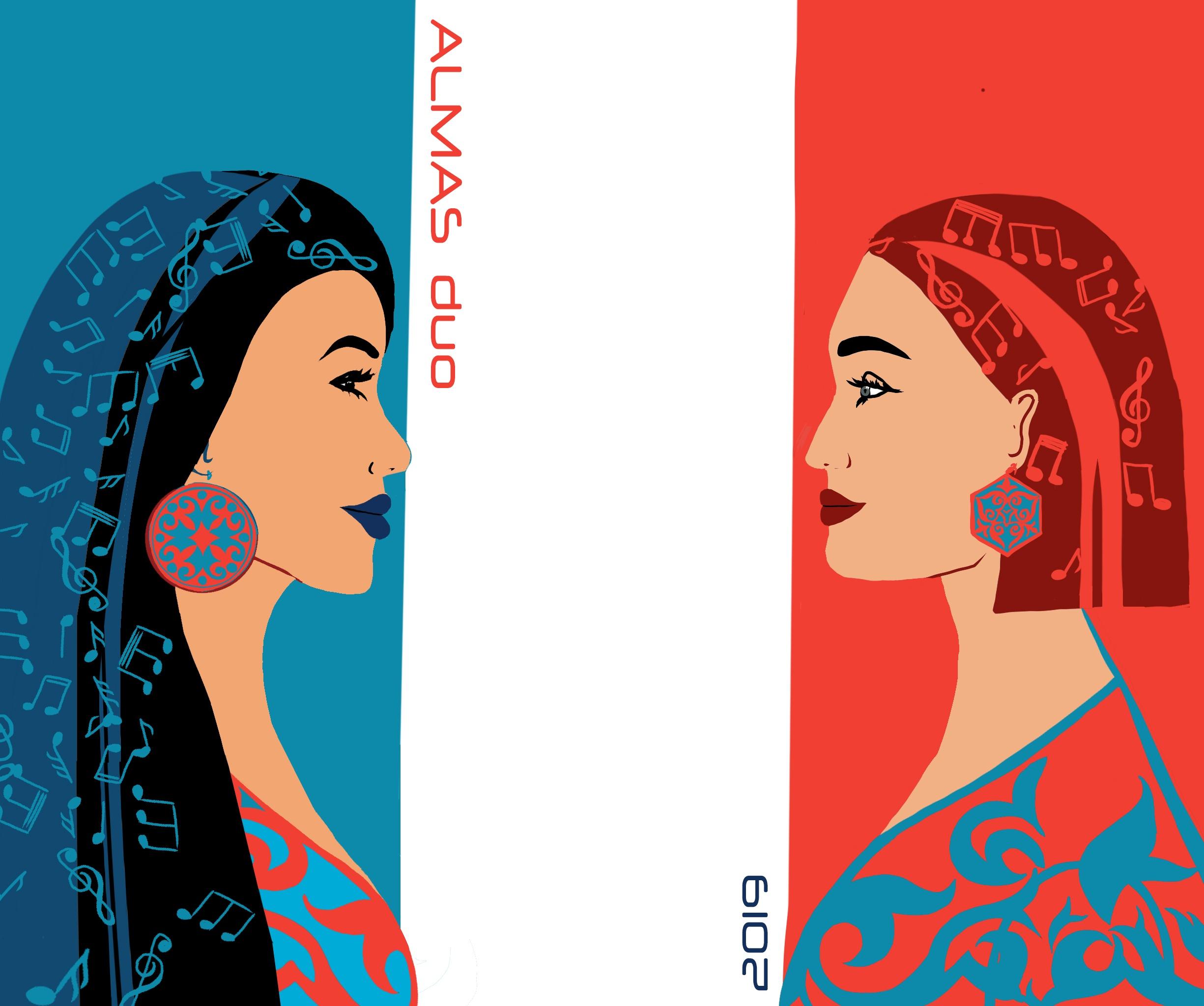 Almas Duo Kazakhstan Chanson Francophonie Musique Culture