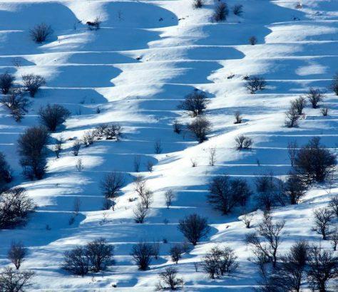 Hiver Montagne Ouzbékistan Photo du Jour