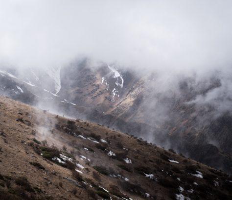 Bichkek Naryn Kirghizstan Montagnes Paysage
