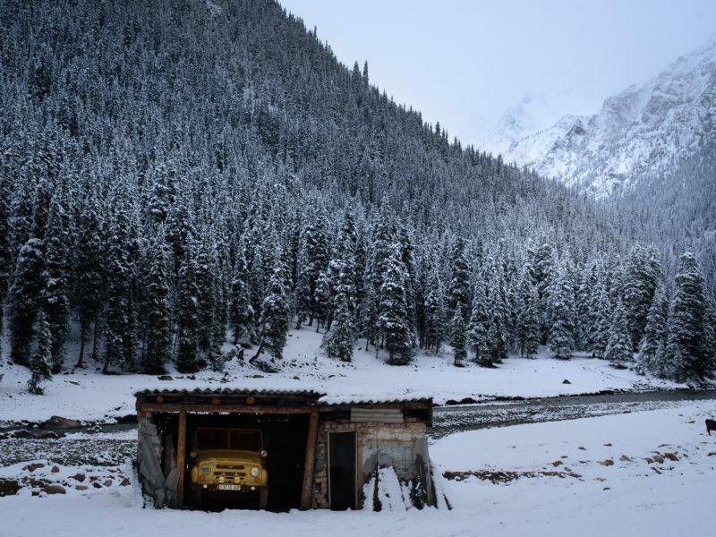 UAZ Montagne Isolement Photo du Jour Antoine Béguier