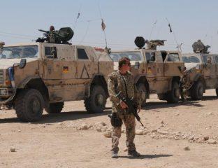 Allemagne armée allemande Afghanistan Militaire