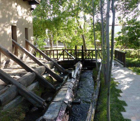 Fabrique de papier de soie à Samarcande