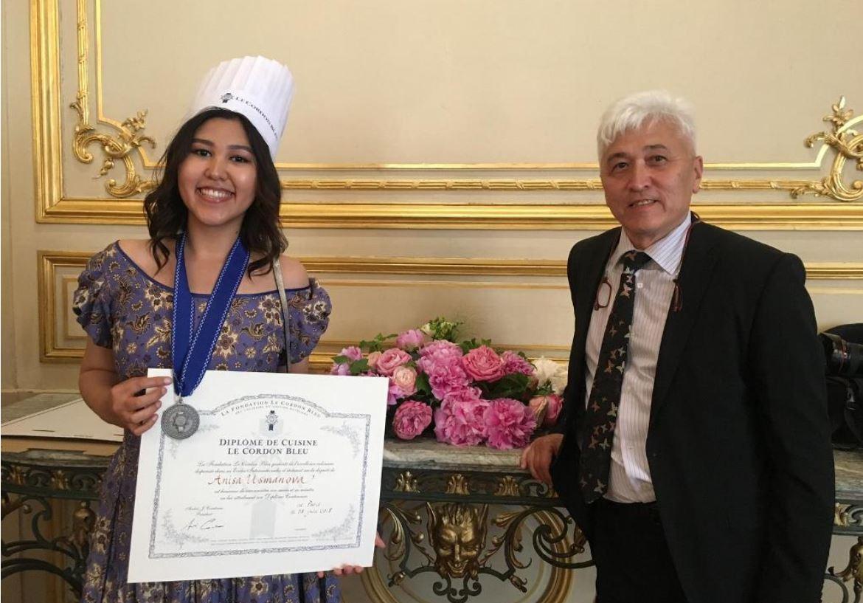 Anisa Usmanova Cuisine Tadjikistan France Tadjike Yannick Alleno