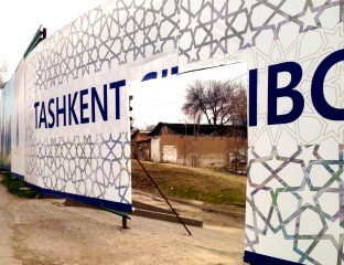 Tashkent City construction boom