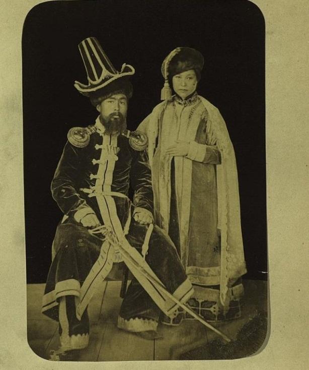Portrait Semiretchensk Kazakhs Kazakhstan XIXème XXème siècle 19ème 20ème Photographies Histoire Société
