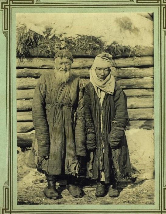 Kazakhs Akmola Portrait Kazakhstan XIXème XXème siècle 19ème 20ème Photographies Histoire Société