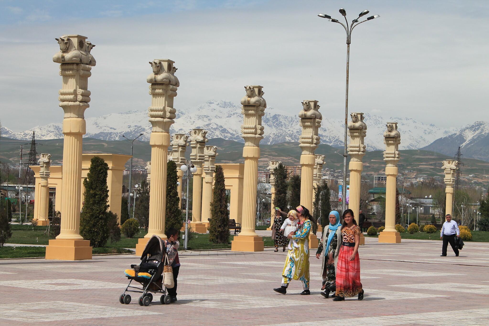 Tadjikistan Ressortissants étrangers société administration