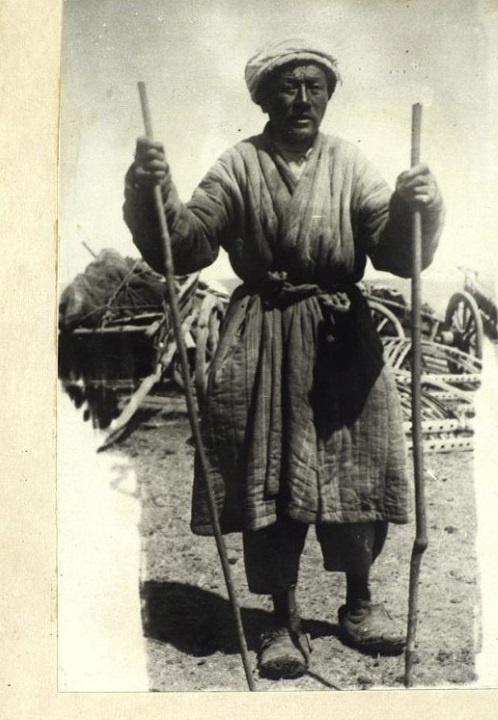 Kuyandinsk Mystique Devin Duana Homme Portrait Kazakhs Kazakhstan XIXème XXème siècle 19ème 20ème Photographies Histoire Société