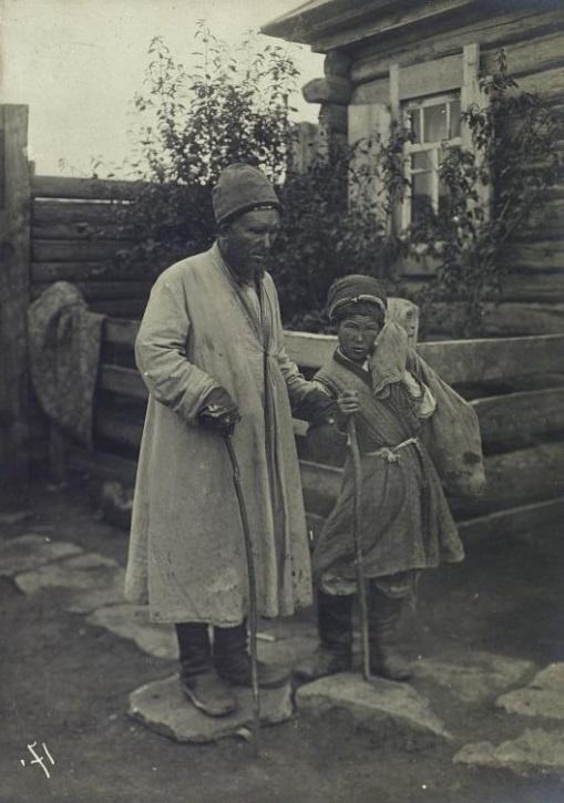 Kazakhs Portrait Pauvre Kazakhstan XIXème XXème siècle 19ème 20ème Photographies Histoire Société