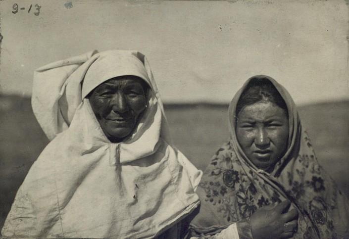 Kazakhs Femmes Portrait Kazakhstan XIXème XXème siècle 19ème 20ème Photographies Histoire Société
