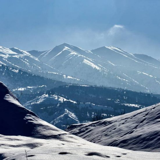 Montagne Neige Tchimgan Ouzbékistan Photo du Jour