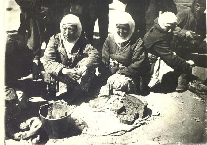 Kazakhs Karaganda Marchands Portrait Kazakhstan XIXème XXème siècle 19ème 20ème Photographies Histoire Société