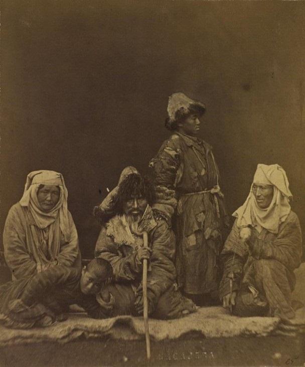 Kazakhs pauvres Kazakhstan XIXème XXème siècle 19ème 20ème Photographies Histoire Société