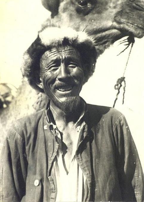Kazakhs Homme Portrait Kazakhstan XIXème XXème siècle 19ème 20ème Photographies Histoire Société