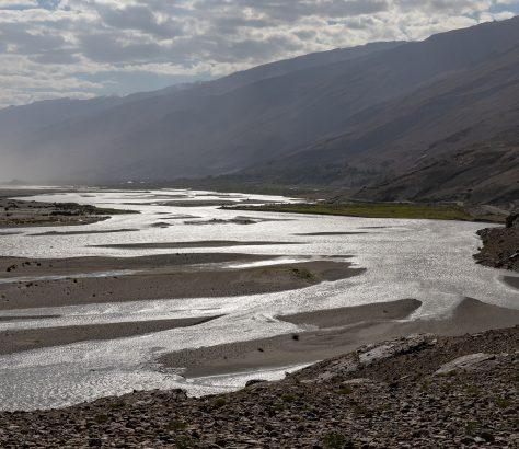 Pandj Rivière Tadjikistan Vakhch Amou-Darya