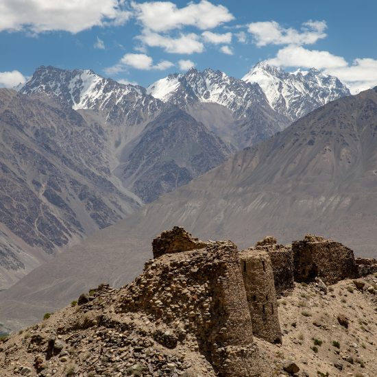 Forteresse de Yamchun Corridor de Wakhan Afghanistan Tadjikistan Photo du Jour