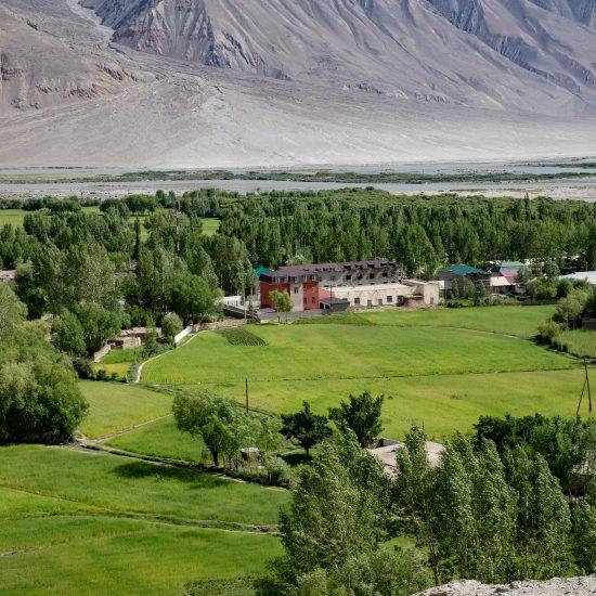 Wrang dans la région tadjike du Wakhan peut sembler un village discret, mais il a un passé passionnant.