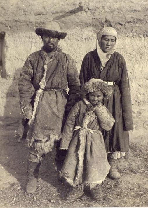 Kazakhs Semiretchensk Famille Kazakhstan XIXème XXème siècle 19ème 20ème Photographies Histoire Société