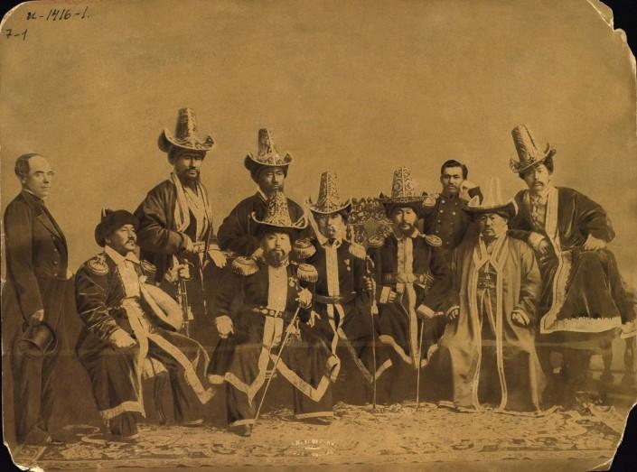Kazakhs Sultans Kazakhstan XIXème XXème siècle 19ème 20ème Photographies Histoire Société