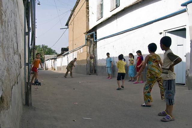 Mahallah Ouzbékistan Tachkent Patrimoine Architecture Histoire Tradition Destruction Danger Jeu Enfants