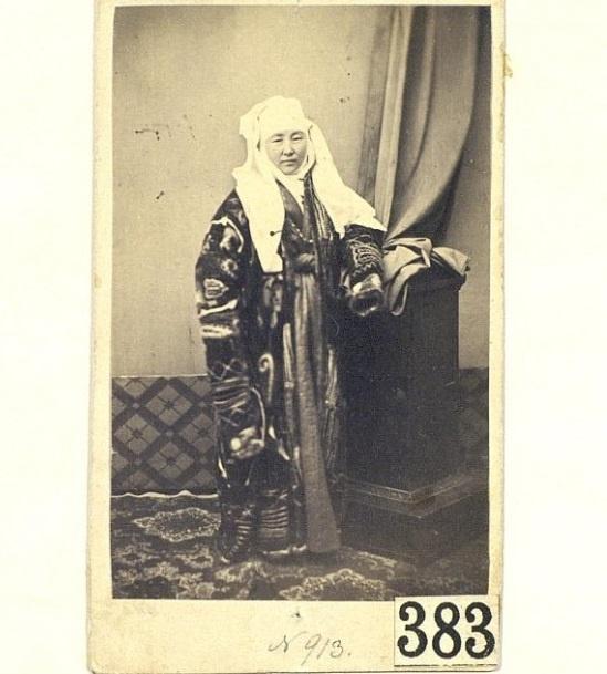 Kazakhs Femme riche Kazakhstan XIXème XXème siècle 19ème 20ème Photographies Histoire Société