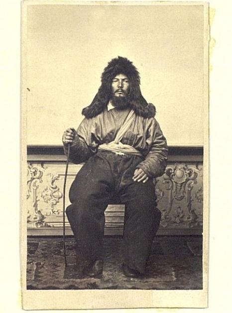 Kazakhs Homme riche Kazakhstan XIXème XXème siècle 19ème 20ème Photographies Histoire Société
