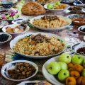 Plov Ouzbékistan Nourriture Table