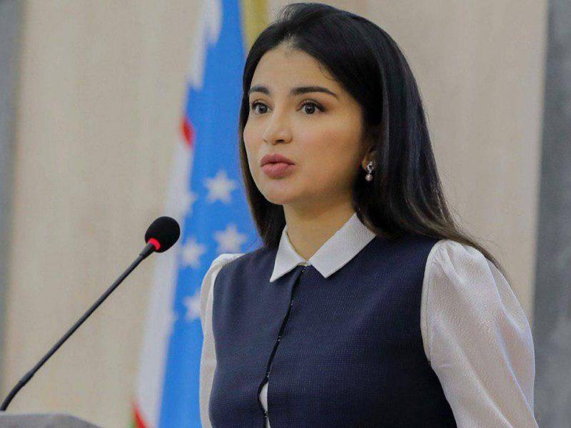 Saida Mirzioïeva poste officielle gouvernement Ouzbékistan fille du président