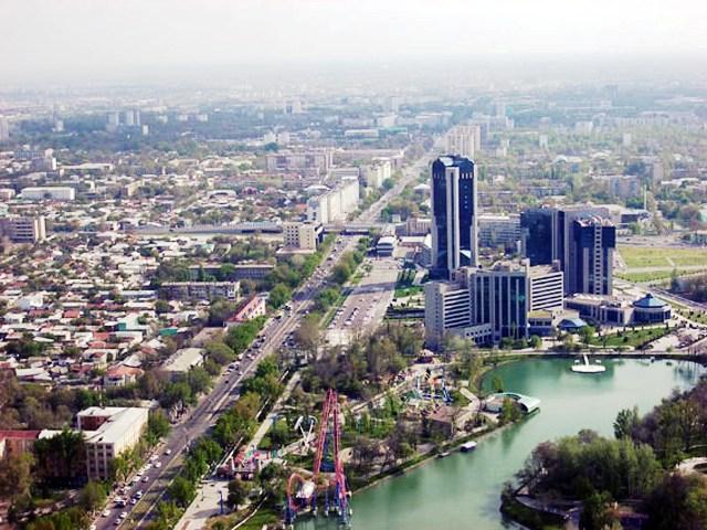 Ouzbékistan Tachkent Skyline