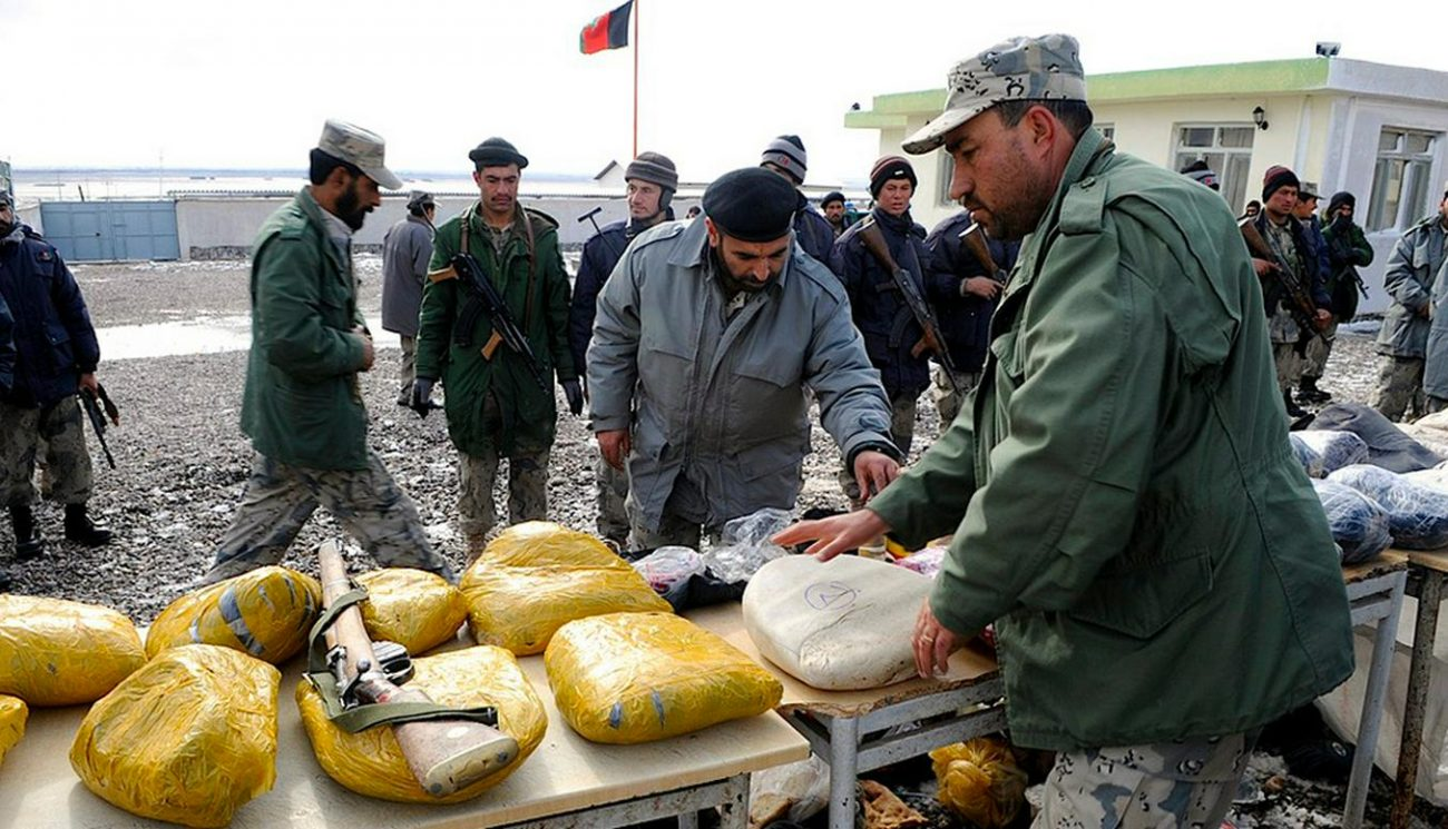 Afghanistan Drogue Opium Saisie