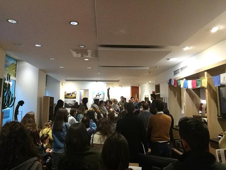 Antoine Béguier Vernissage Exposition Terres d'Aventures la vie kirghize