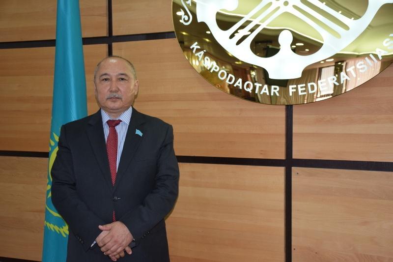 Amangeldy Taspikhov Candidat Election présidentielle Kazakhstan