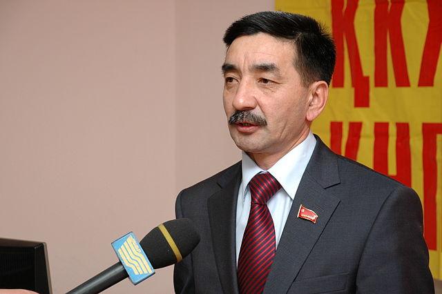 Jambyl Akhmetbekov Candidat Election présidentielle Kazakhstan