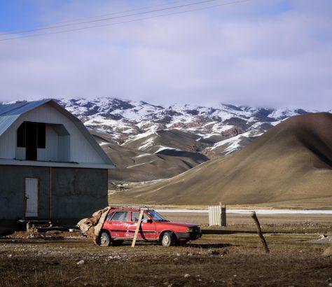 Véhicule Recyclage Kirghizstan Photo du Jour