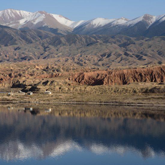 Lac Issyk-Koul Kirghizstan