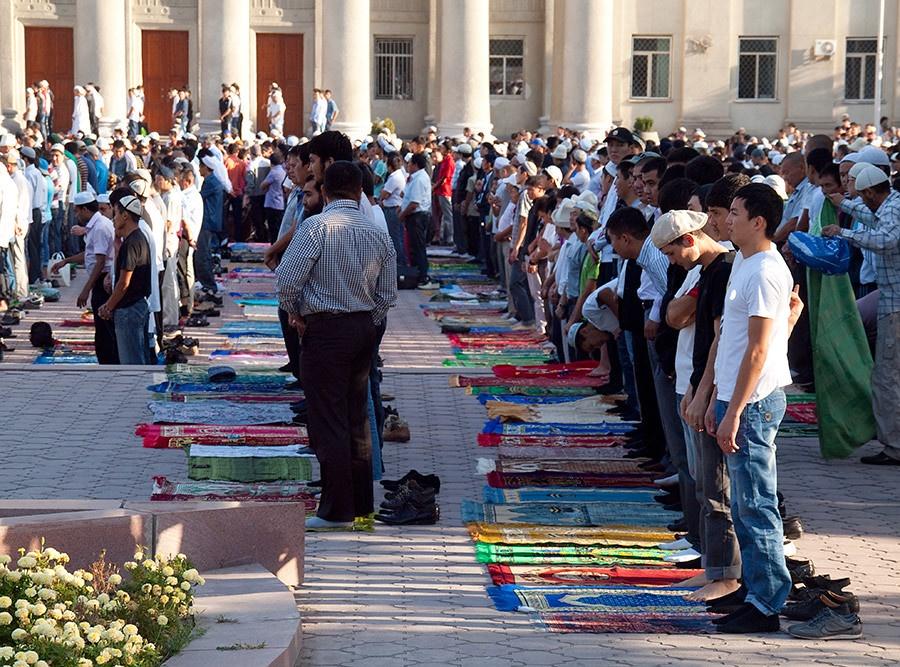 Kirghizstan Bichkek Religion Prière Ramadan Islam
