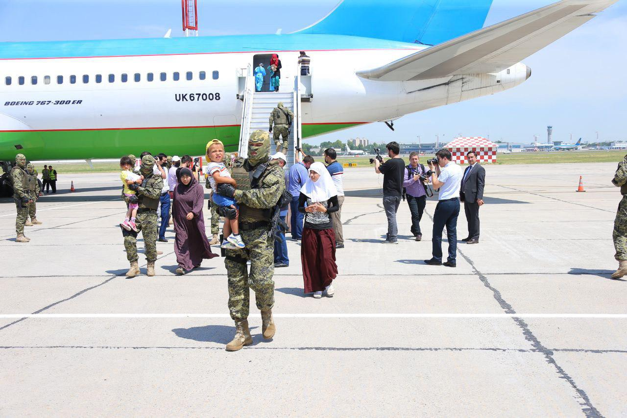 Ouzbékistan Tachkent Famille Djihadiste Retour