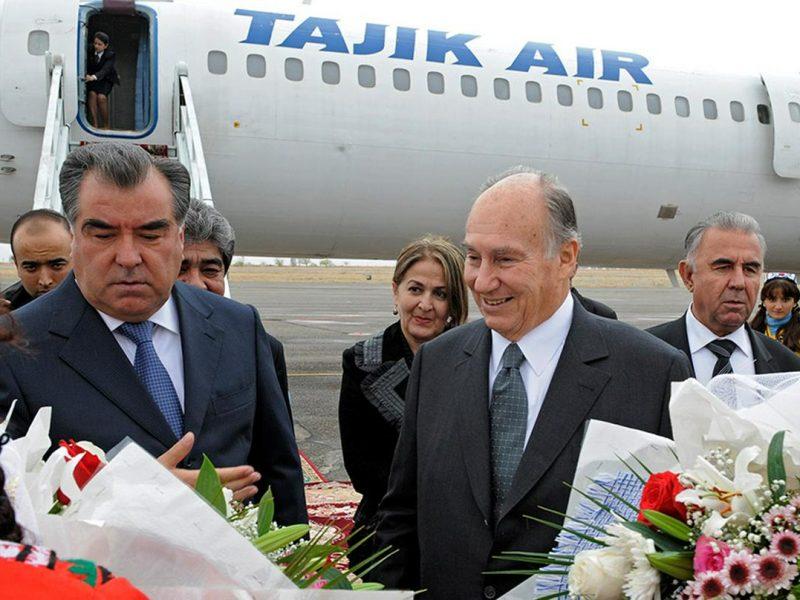 Emomalii Rahmon Aga Khan Tadjikistan AKDN Fondation Société Développement