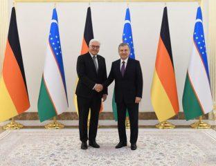 Frank-Walter Steinmeier Chavkat Mirzioïev Visite Ouzbékistan Allemagne Politique