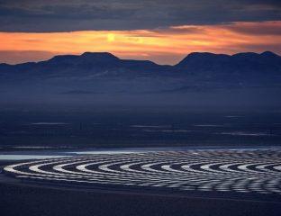 Ouzbékistan Energie Renouvelable Solaire Photovoltaïque Centrale Total Eren