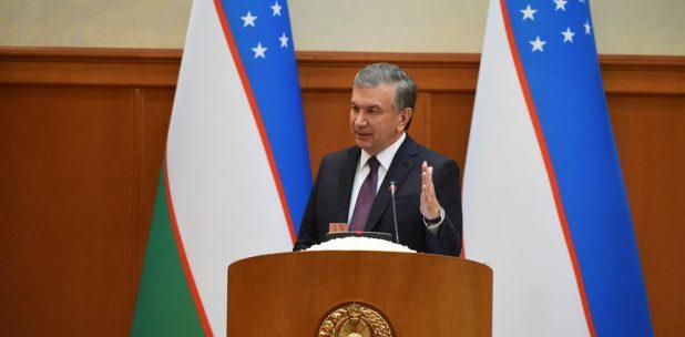 Chavkat Mirzioïev Ouzbékistan Sénat Procureur Général Administration Politique Discours