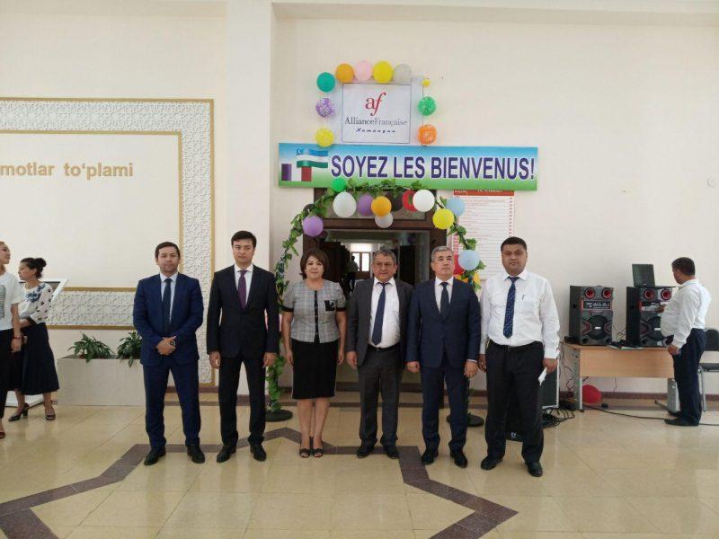 Alliance Française Namangan Ouzbékistan Ouverture