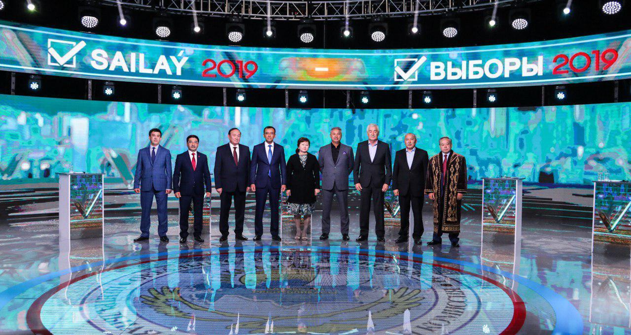 Débat Télé Kazakhstan Candidats