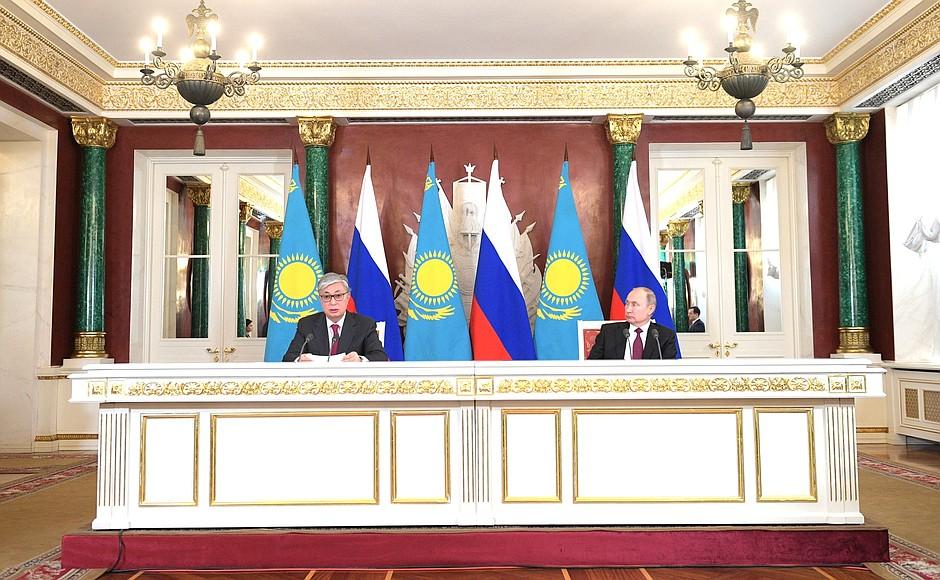 Nucléaire réacteur centrale Kazakhstan Russie Vladimir Poutine Kassym-Jomart Tokaïev